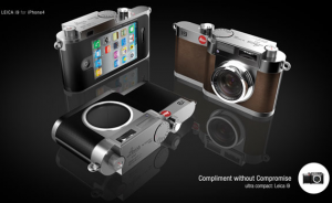 Interesting Leica / IPhone 4 camera concept