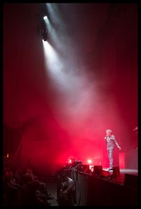 Jean-Michel Jarre concert seen through the Leica M10