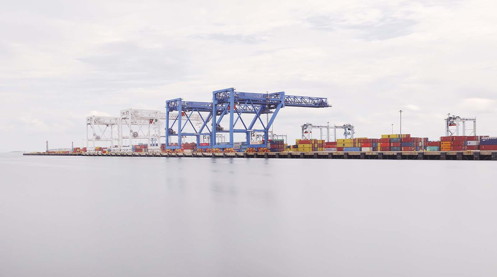 Container Terminal, Boston USA