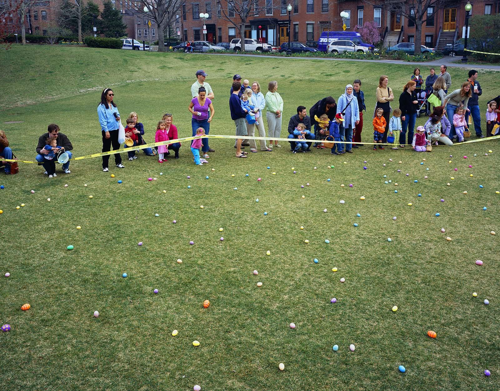 Easter Egg Hunt, Boston USA