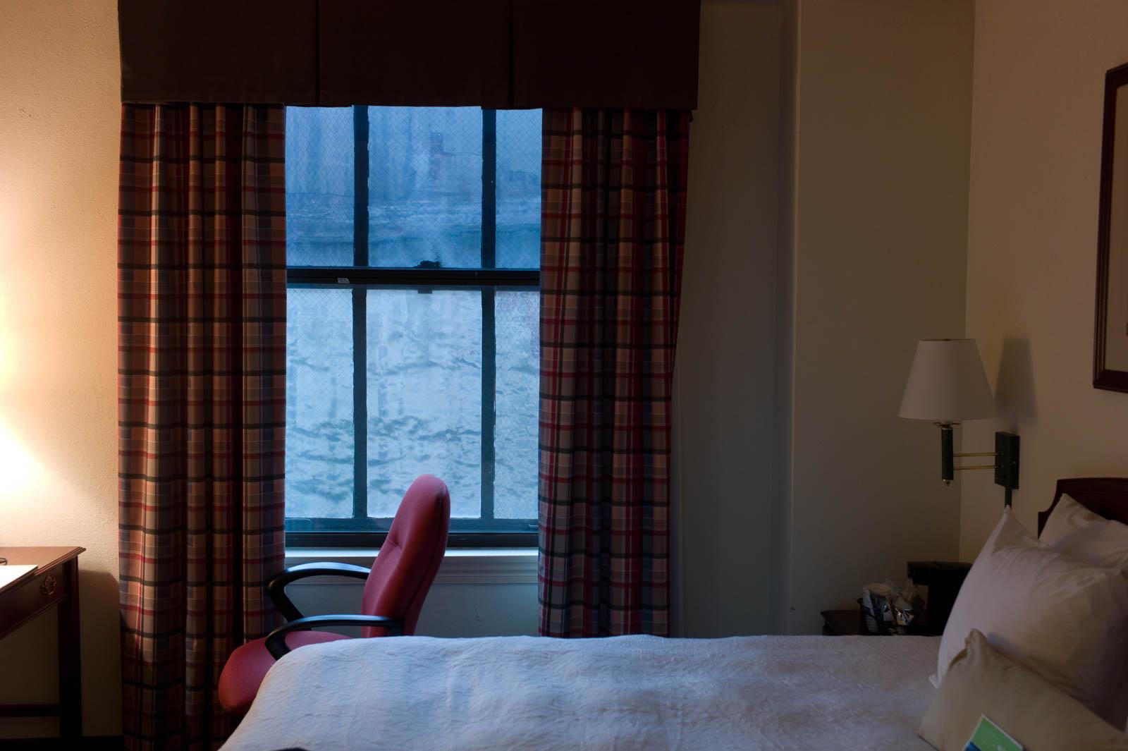 Room 416, Hampton Inn, Indianapolis