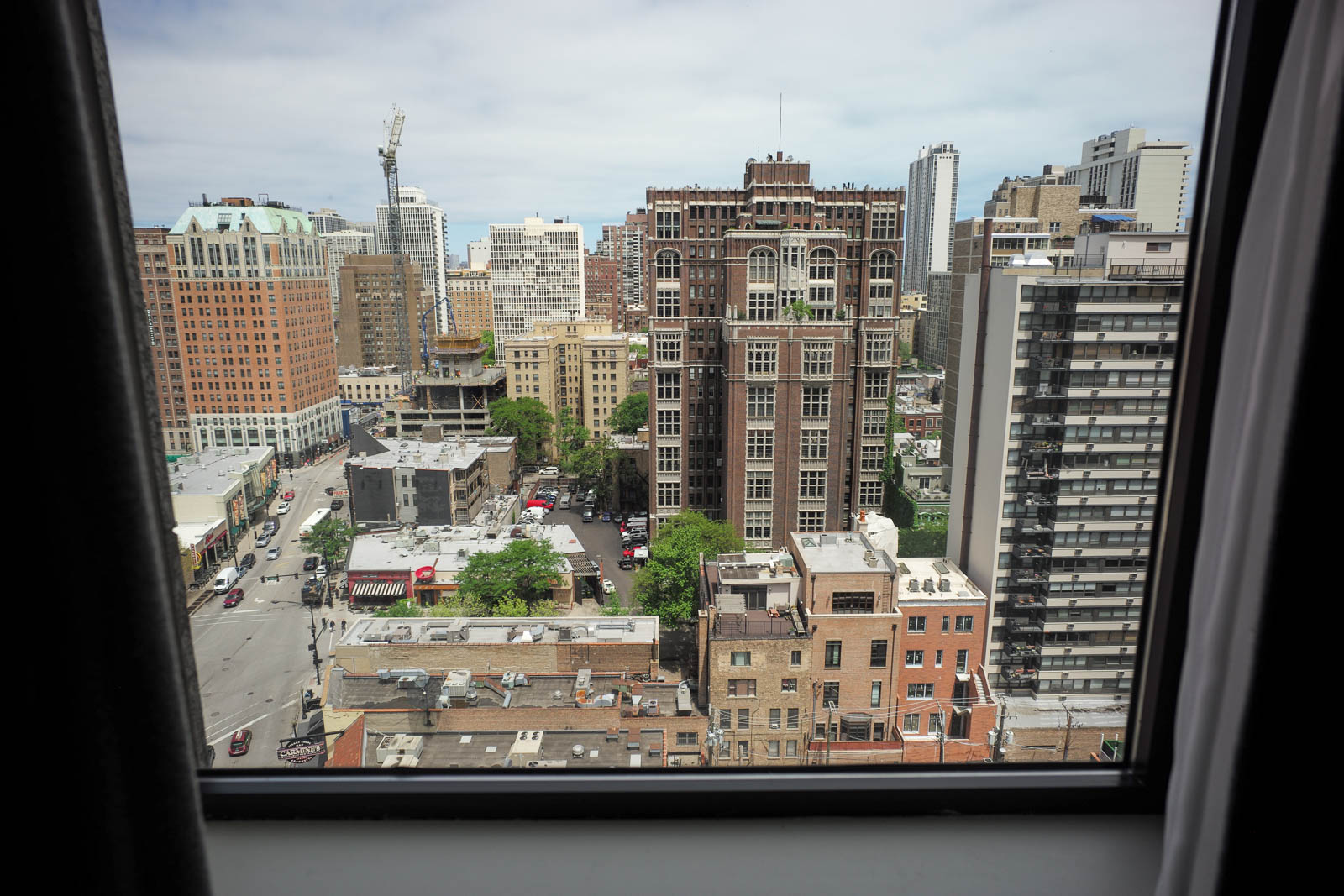 Room 1607, Thompson Hotel, Chicago