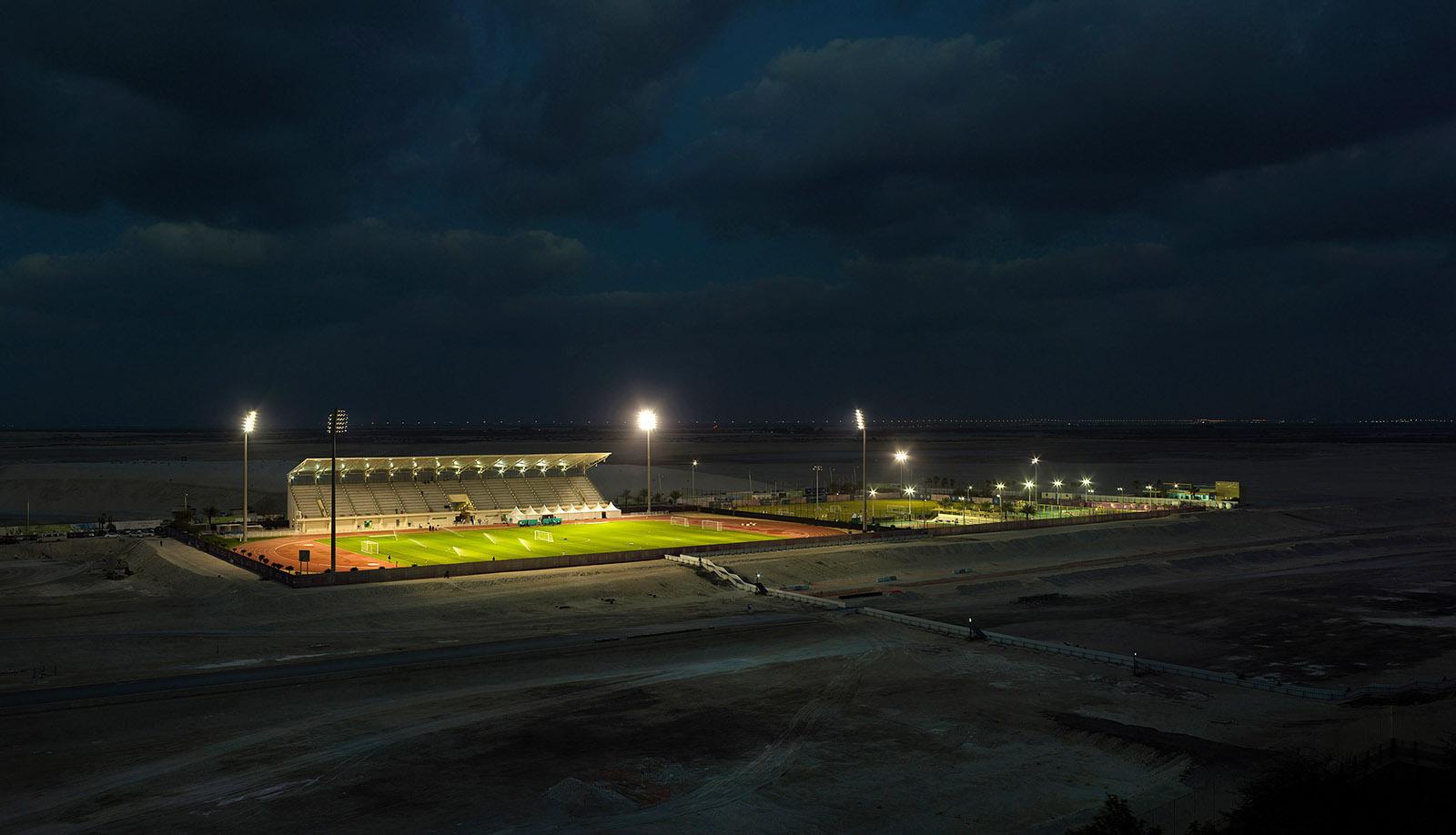 Soccer Field Abu Dhabi