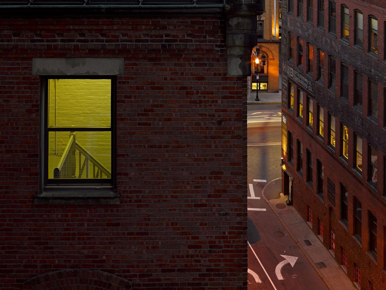 Yellow Window next Door